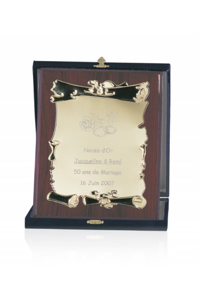 Plaque de Distinction Personnalisable - 190-51CLI