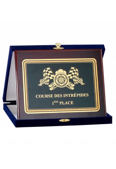 Plaque de Distinction Personnalisable - 190-61CLI