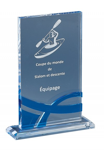 Trophée Acryglass Laserable 175-11