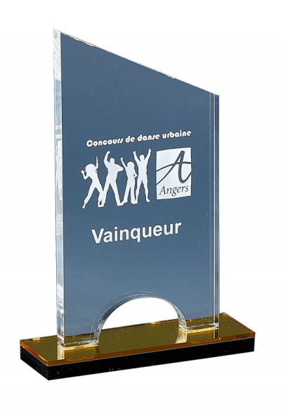 Trophée Acryglass Laserable 176-21