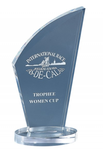Trophée Acryglass Laserable 180-51