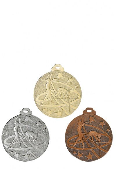 Médaille 50mm Gymnastique - NY10